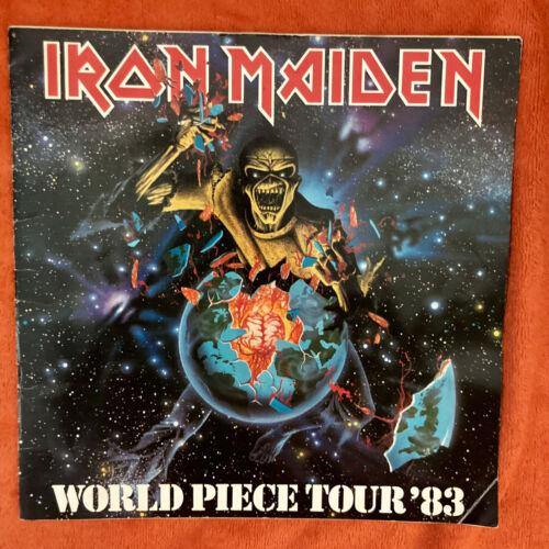 IRON MAIDEN World Piece Tour '83 PROGRAM Eddie