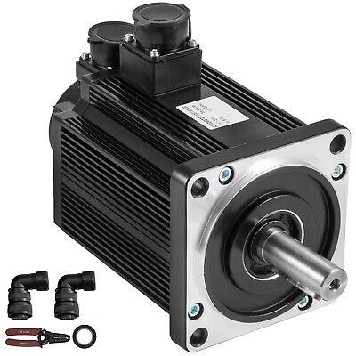 Servo Motor 1.5kw 5nm Ac Servo Driver Kit 220v F Cnc Mill Machine