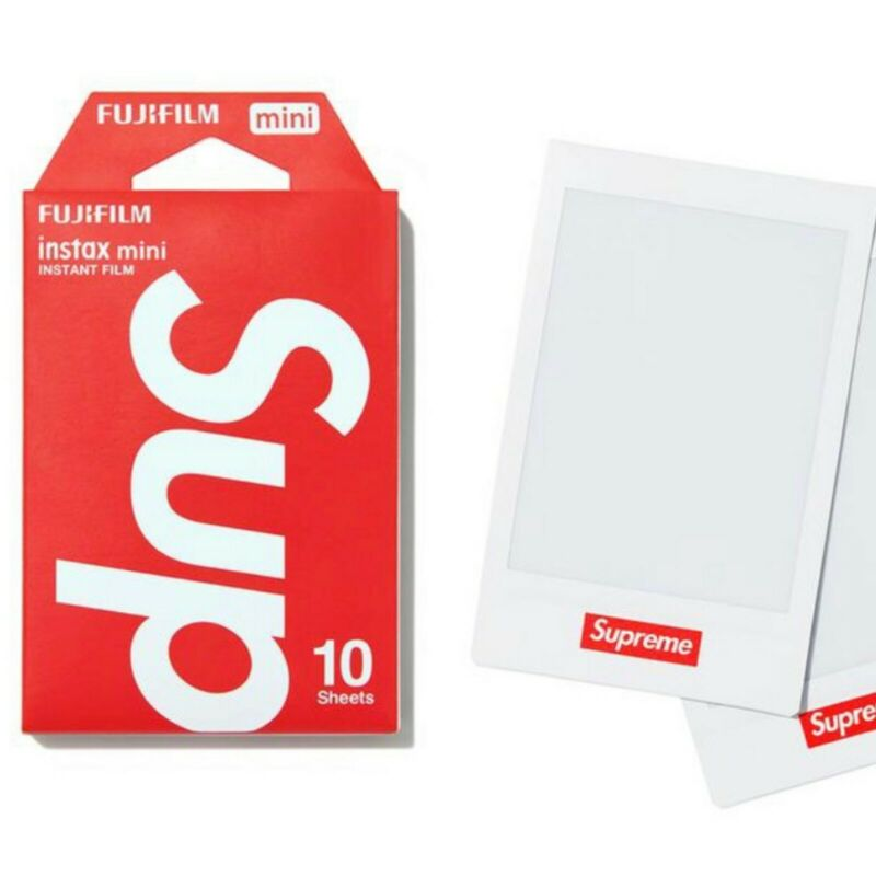 Supreme FujiFilm Instax Mini Instant Film (Pack Of 10) White IN HAND
