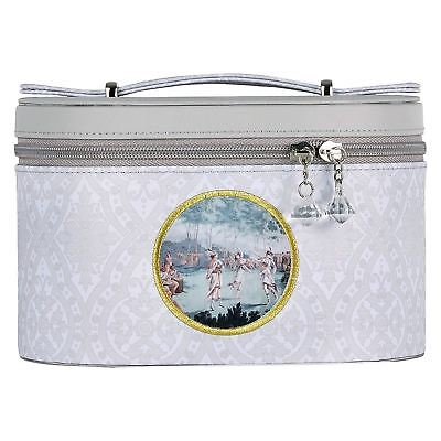 Mathilde M Small Rigid Vanity Case Bag Storage Taupe & Grey Chic Iles Marquises