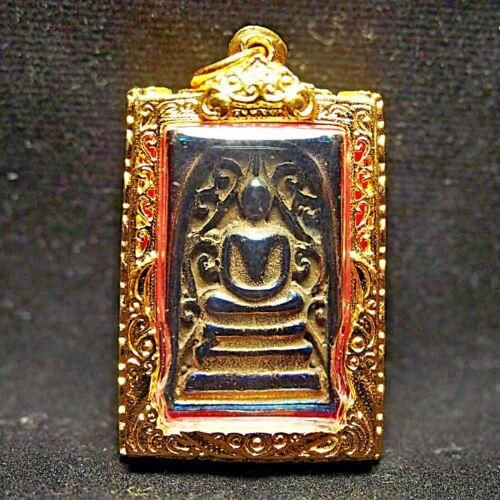 Rare Phra Somdej Pokpoh From Umklum Cave Thai Buddha Amulet Pendant