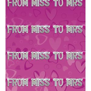 New Bachelorette Party Supplies Bridal Party Banner
