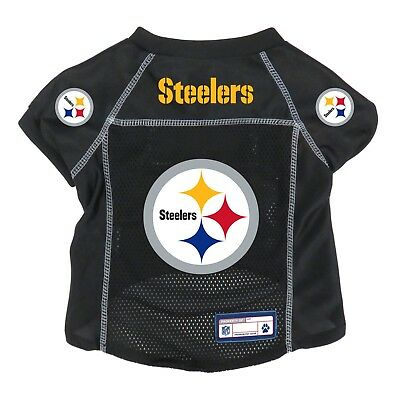 - NEW PITTSBURGH STEELERS PET DOG PREMIUM ALTERNATE JERSEY w/NAME TAG LE