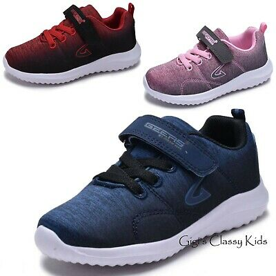 Boys Girls Tennis Shoes Sneakers Strap Athletic Running Youth Kids Toddler