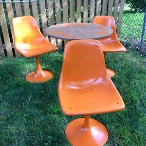 Genuine Vintage Table and chairs