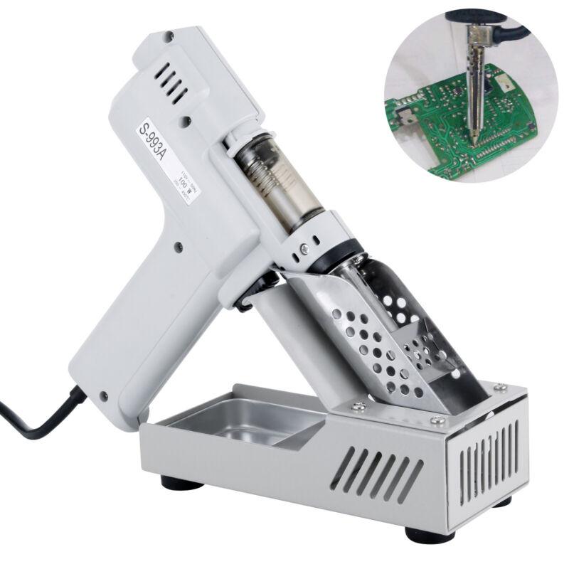 VEVOR S-993A Electric Vacuum Desoldering Pump 100W Solder Sucker Gun 350-450℃