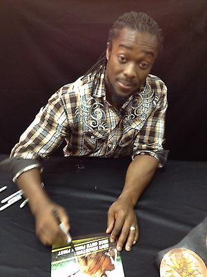 Kofi Kingston Signed Childrens Book