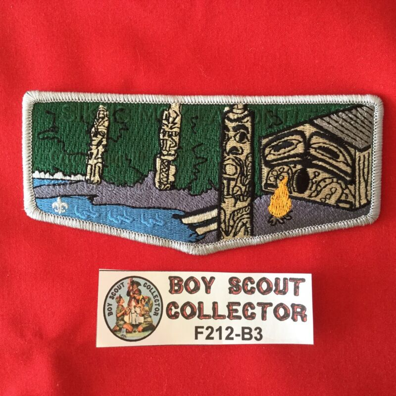Boy Scout OA Sikhis Mox Lamonti Lodge 338 Order Of The Arrow Pocket Flap Patch