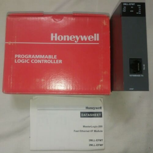 Honeywell MasterLogic 2MLL-EFMT V3.30 Fast Ethernet I/F Module