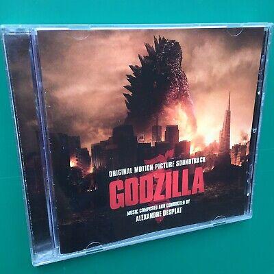 Alexandre Desplat GODZILLA Soundtrack OST CD Aaron Taylor-Johnson Bryan Cranston