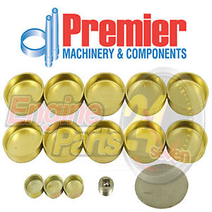 HOLDEN V8 253 308 304 EFI 5.0L BRASS WELCH OR WELSH PLUG SET