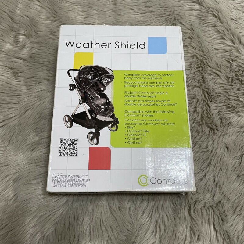 Contours Weather Shield Stroller Cover for Options Elite ET Optima Strollers