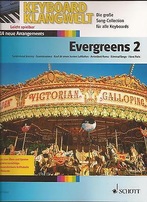 Keyboard Noten - Evergreens 2 -