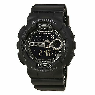 Casio GD100-1B Men's G-Shock World Timer Digital Dive Watch