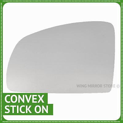 Left hand passenger side for Vauxhall Meriva A 2002 2010 wing mirror glass