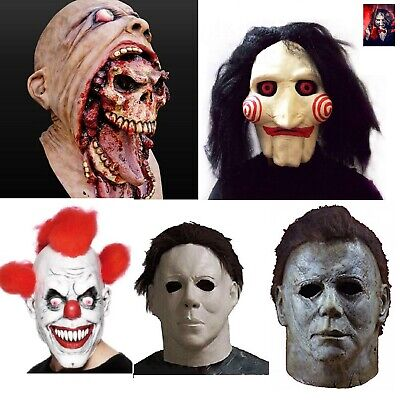 SCARY HALLOWEEN MASK Clown Evil Horror Zombie Cry Baby Saw Michael Myers - Michael Myers Kostüm Scary