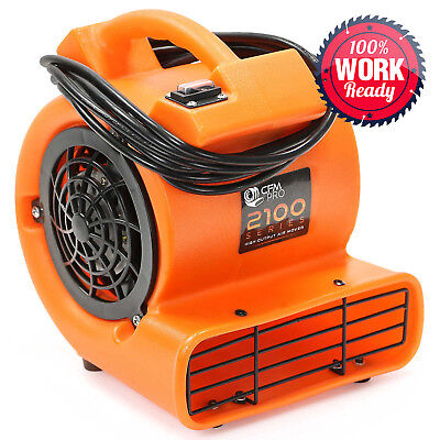 Mini Air Mover 112 Hp Blower Fan - Orange