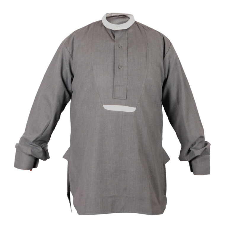 WW1 1st Australian Imperial Force Grey Flannel Service Shirt - Large 54 inch C73