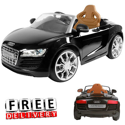 Battery Powered Car For Kids Ride On Toy 6V Electric Audi RS8 Toddler Vehicle