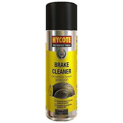 Hycote Brake Disc Clutch Parts Cleaner Degreaser Remover Spray Aerosol 600ml
