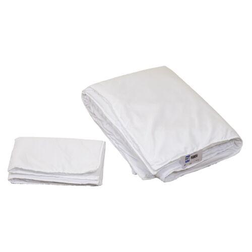 4 Tog 100x135cm Quilt Duvet + 40x60cm Pillow Only - fillings for cot bed bedding
