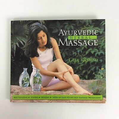 Ayurvedic Herbal Massage By Gita Ramesh Hardcover 2005 for sale  Shipping to India