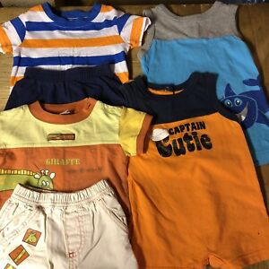 Boys 3-6 month summer clothing lot