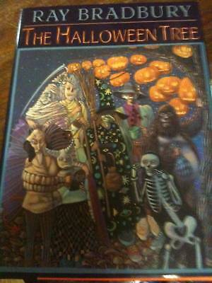 Ray Bradbury HALLOWEEN TREE signed  with drawing  - Ray Bradbury Halloween