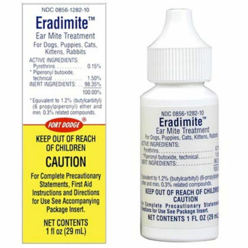 Eradimite Ear Mite Treatment, 29 ml