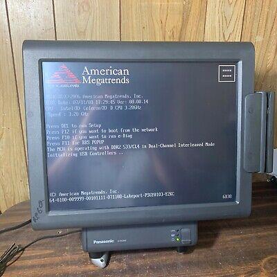 Point Of Sale Panasonic Js950ws Js-950ws Touchscreen Register Pos Computer