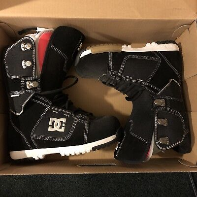 Dc Shoes Park Boot Black/white US 8 Dc Park Snowboard Boots