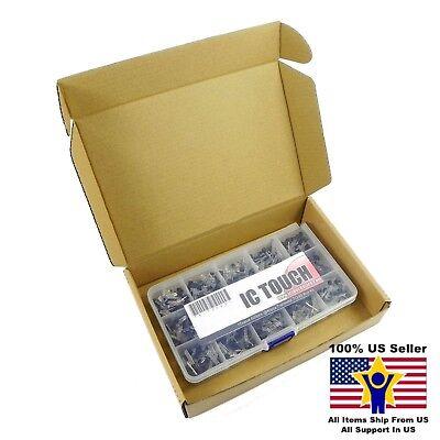 15value 600pcs Transistor To-92 Assortment Box Kit Us Seller Kitb0069
