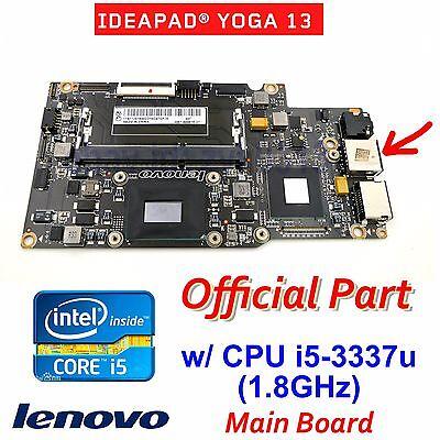 LENOVO IDEAPAD YOGA 13 w i5-3337U1.8G CPU MOTHERBOARD11201845 90002038 NEW