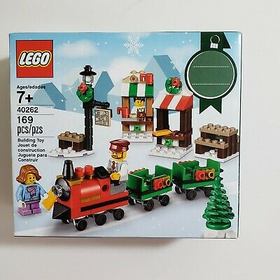 LEGO 40262 Seasonal Holiday Christmas Train New in Sealed box