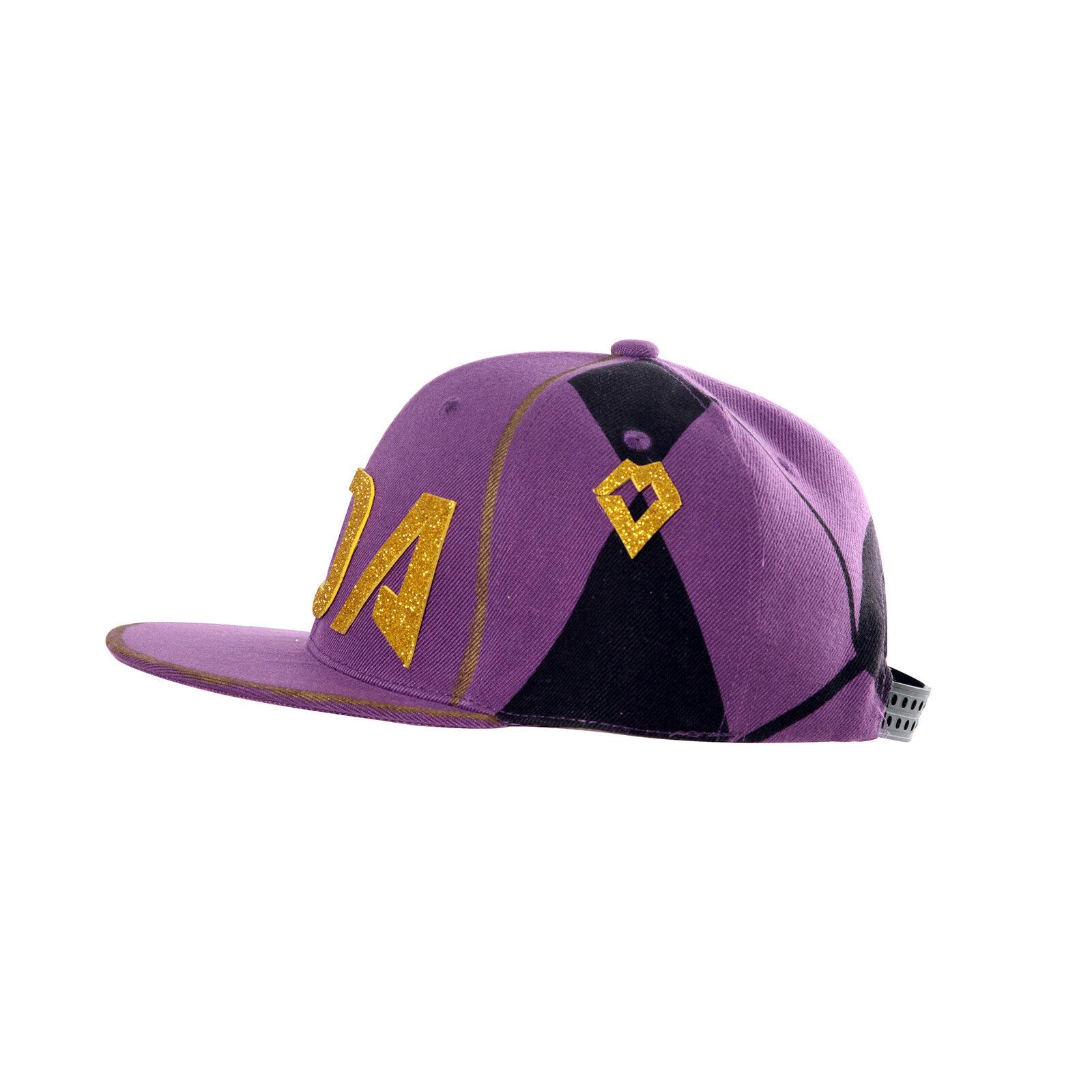 KDA Akali Snapback Adjustable Baseball Cap Hat League of Legends Cosplay Props
