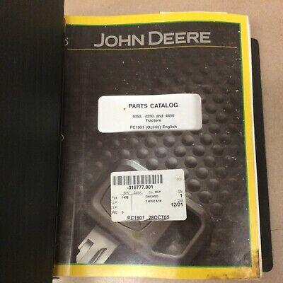 John Deere Jd 4050 4250 4450 Parts Catalog Manual Book Ag Tractor Guide Pc1901