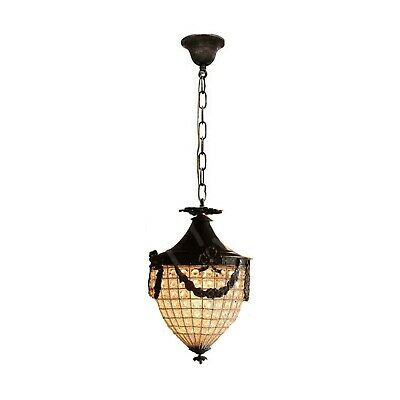 Light Crystal Bead Basket (Basket Crystal Brass Chandelier Strawberry Clear Beads Ceiling Lighting)