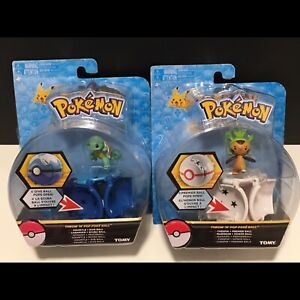 Figurine Pokémon. Carapuce/Morisson (Squirtle & Chespin