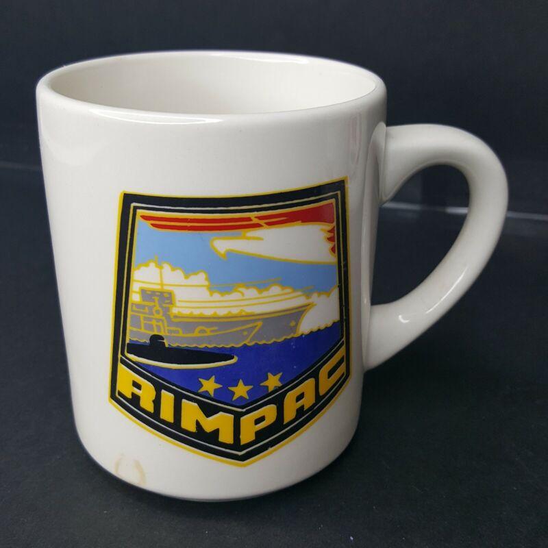 "United States Military RIMPAC Coffee Cup Mug Appx 3.5 x 2.75"""