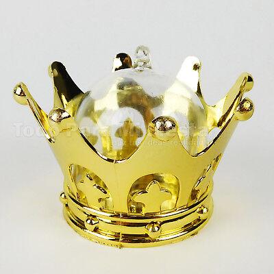 Wedding Favors Fillable Crown Baby Shower Favor Princess Boda Quincea Recuerd - Plastic Princess Crowns