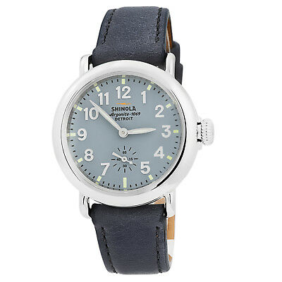 Shinola Runwell Unisex 36mm Stainless Watch Made in Detroit USA S0110000243