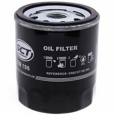 SCT Ölfilter SM196 Filter Motorfilter Servicefilter Anschraubfilter Dichtung