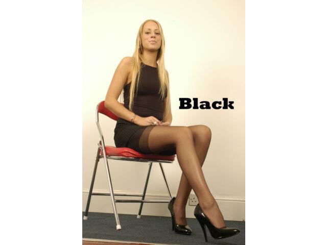 English real RHT stockings 100/% Nylon sizes S Garter Stockings in Copper Original 1960s pattern Seamless Nylons XL