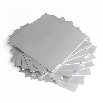 Hho Parts 13 Plates - Inox 316l Stainless Steel 105 X 105 Mm For Wet Cell Etc..