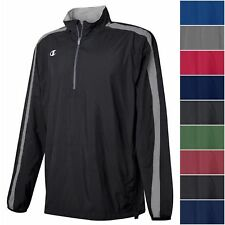 Champion Men's GO-TO 1/4 Quarter Zip Jacket Light Weight Athletic Pullover Shirt