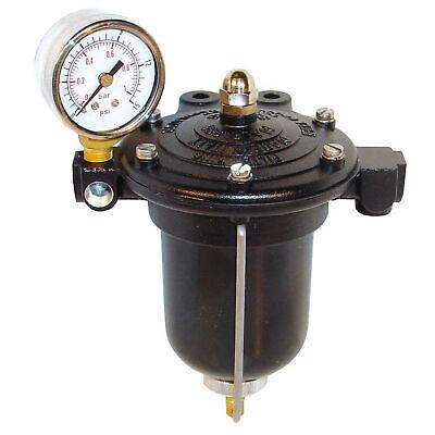 Malpassi 1/8 NPT Female With Gauge High Flow Filter King Fuel Pressure Regulator