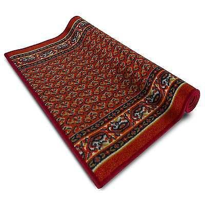 Teppichläufer Orientteppich Läufer Orientmuster Teppiche Orient rot günstig  ()
