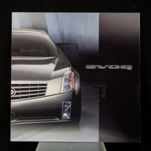 1999 Cadillac Evoq Concept Brochure – Introducing Art & Science Design