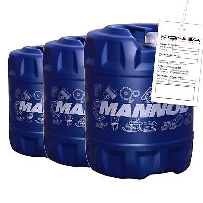Die Kühlung Additiv (60 Liter MANNOL 4-Takt Agro SAE 30 SG Öl für Gartengeräte)