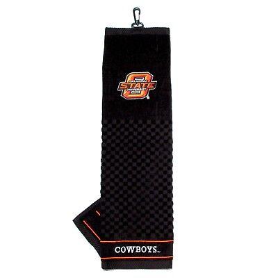 NCAA Oklahoma State Cowboys Golf Towel Embroidered Tri-Fold 16